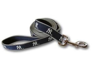 Yankees Leash - Posh Pet Glamour Boutique