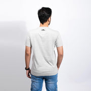 Grunge Crown Men's Grey T-shirt - Gods Exclusive Collection - RoadGods
