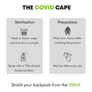 The COVID Cape - Virus Shield and Rain Cover of Backpack - RoadGods