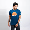 Eureka Men's Blue T-shirt - Gods Exclusive Collection - RoadGods