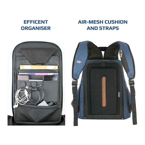 Blue Ghost Anti-Theft Laptop Backpack - RoadGods