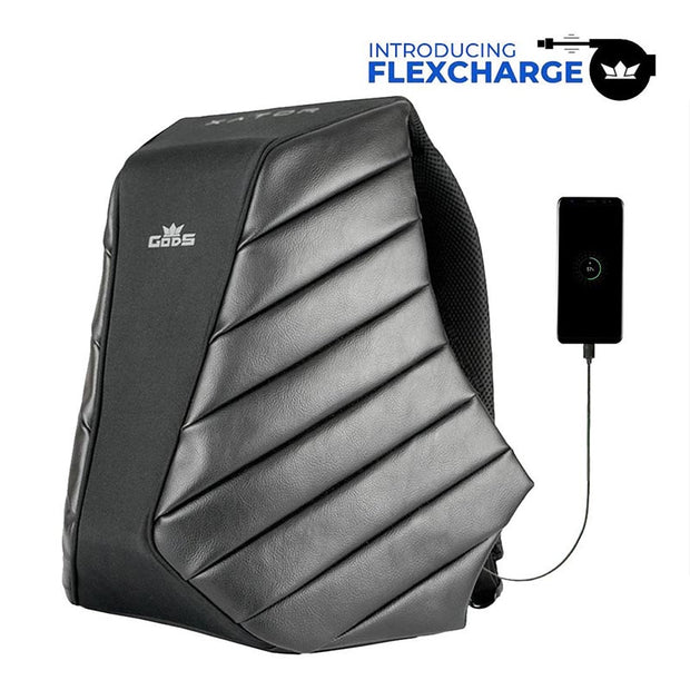 GODS Xator 15.6 Inch Anti-Theft Laptop Backpack with Flexcharge - RoadGods