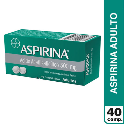 Aspirina 500 mg x 40 comp.