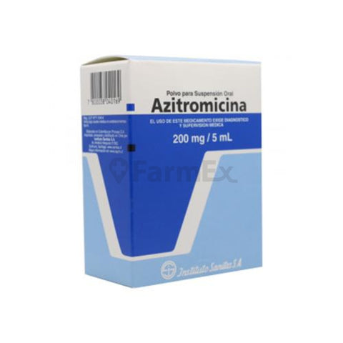 Azitromicina 200 mg x 30 ml
