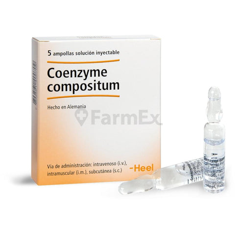 Coenzyme compositum Solución Inyectable x 5 ampollas