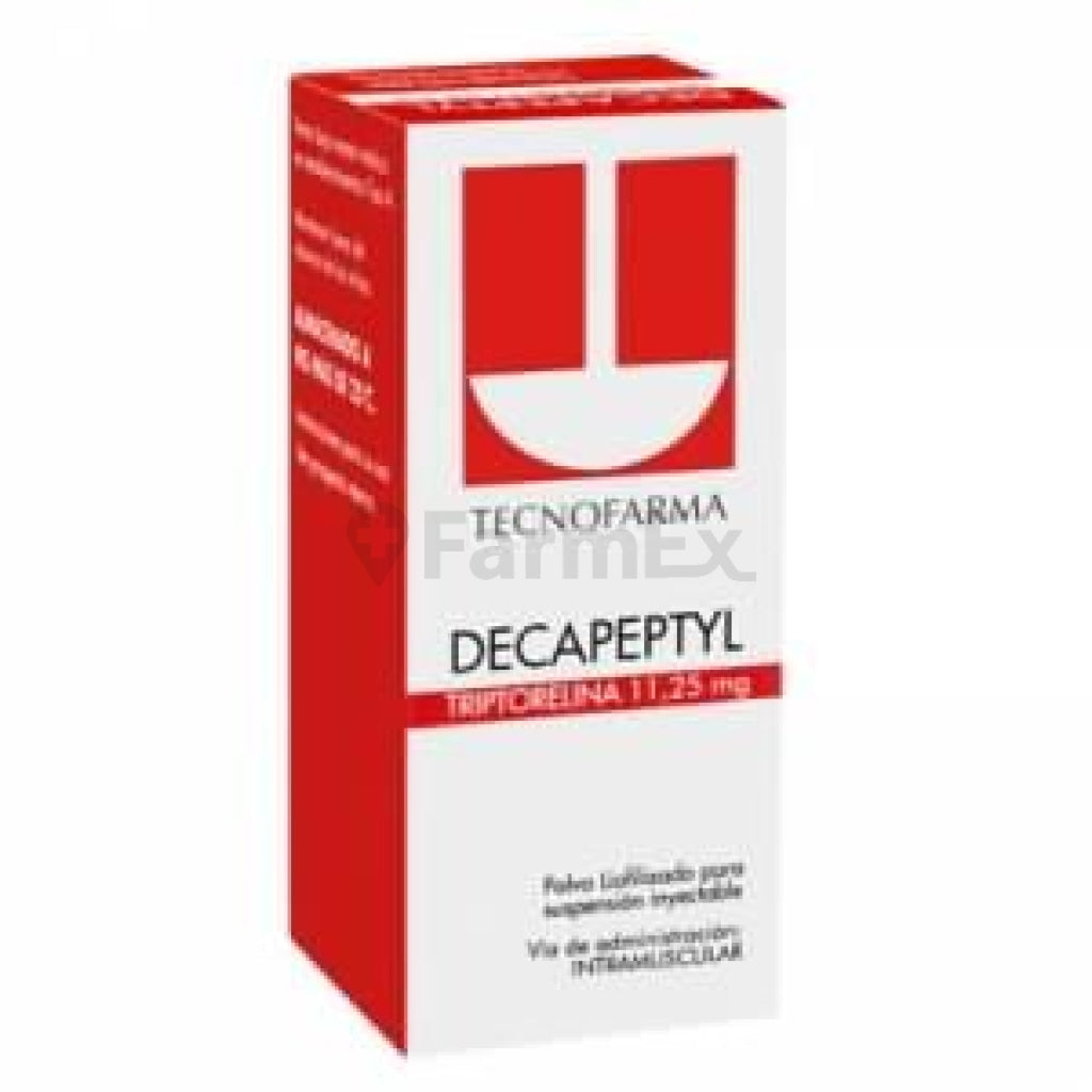 Decapeptyl 11.25 mg Liofilizado Polvo para Suspensión Inyectable x 1
