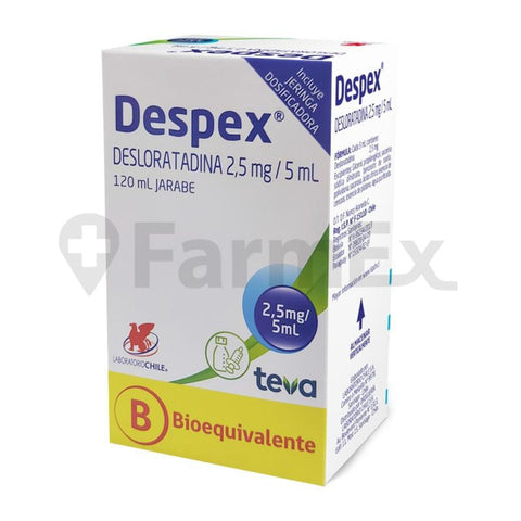 Despex 2.5 mg / 5 ml x 120 ml  (Ley Cenabast)