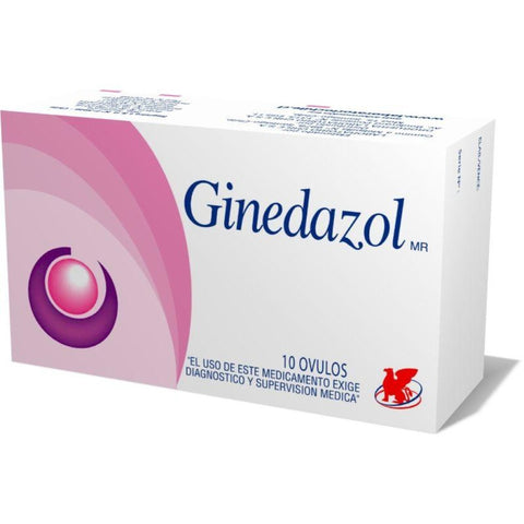 Ginedazol x 10 Ovulos