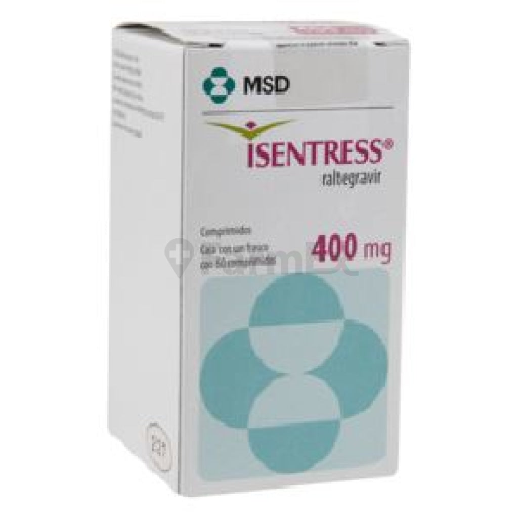 Isentress 400 mg x 60 comp