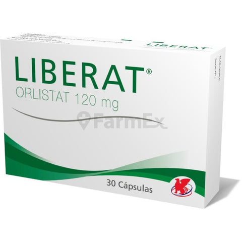 Liberat 120 mg x 30 Capsulas (Lab. Chile)