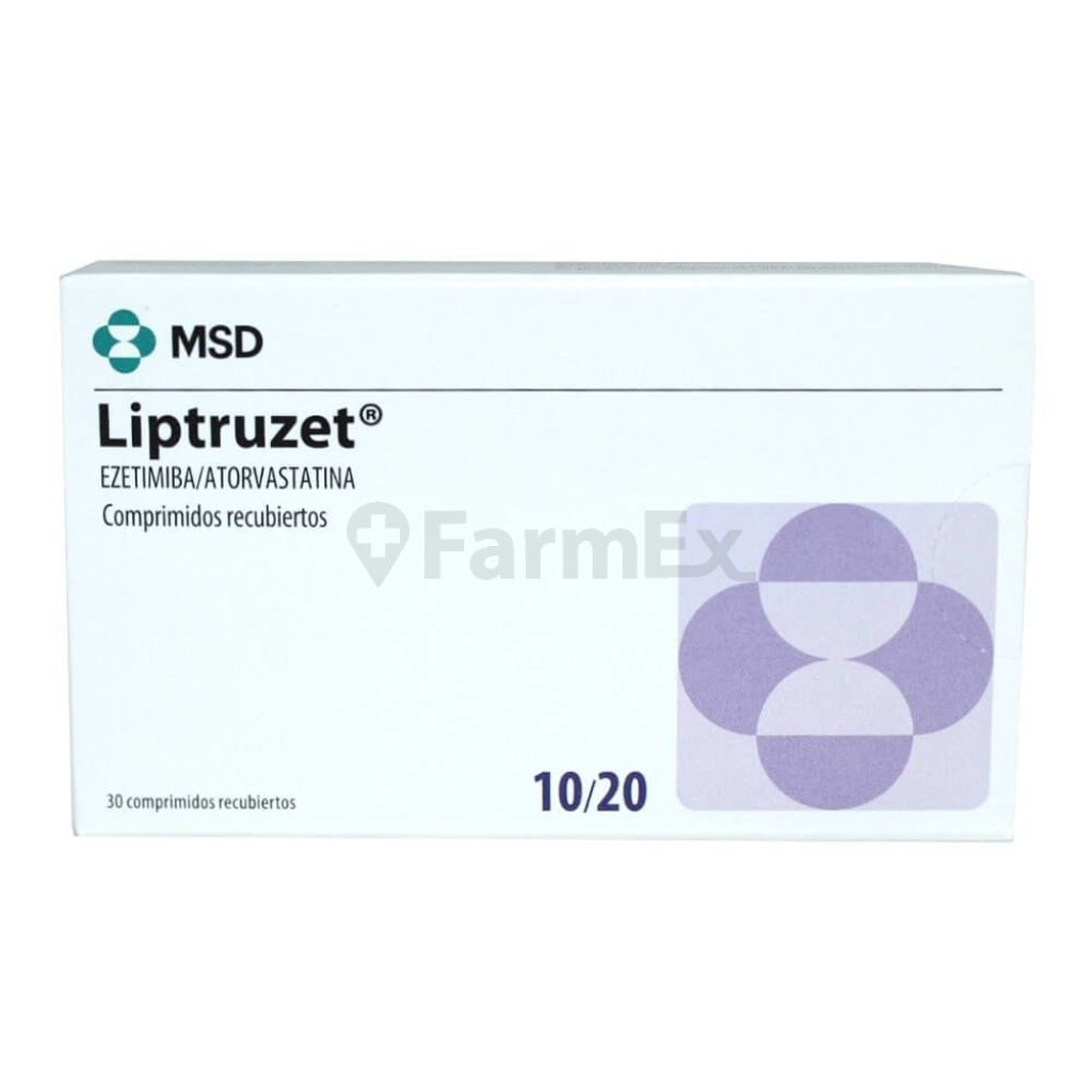 Liptruzet 10 / 20 mg x 30 comp
