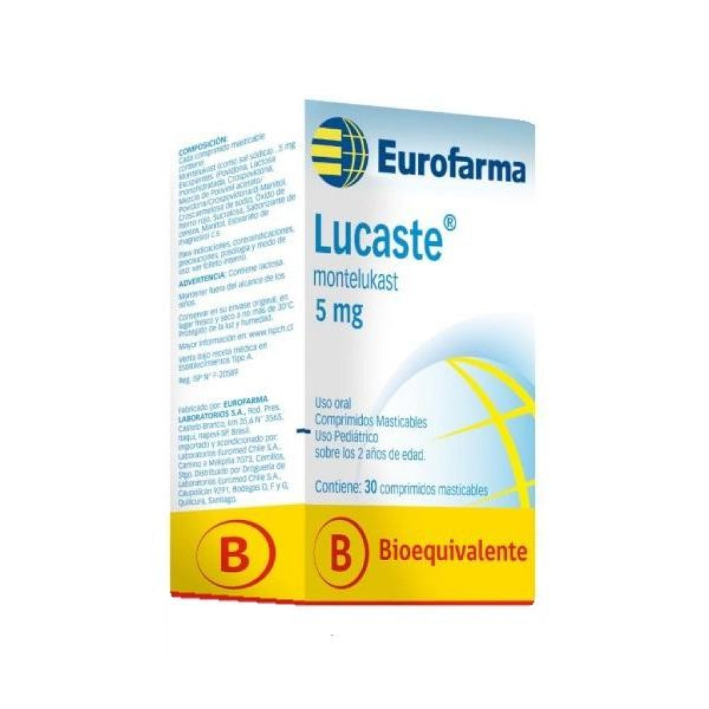 Lucaste 5 mg x 30 comp