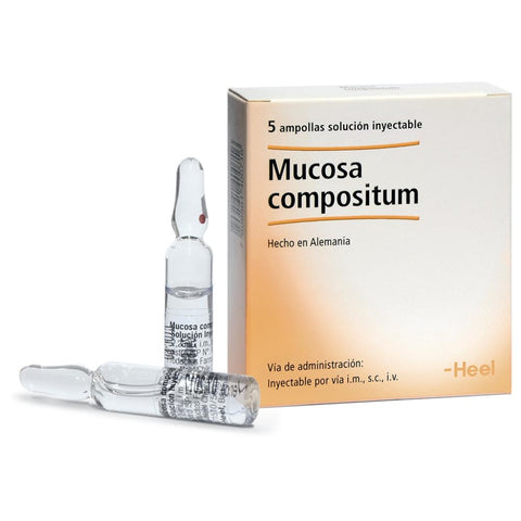 Mucosa compositum Solución inyectable x 5 ampollas