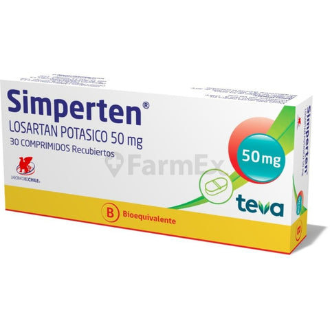 Simperten® 50 mg x 30 comp