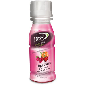 Dex4 Liquiblast, Berry Burst (36 Bottles per Case)