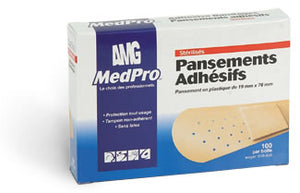 MedPro Plastic Strips (100/box)
