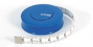 Deluxe Tape Measure, auto rewind 60