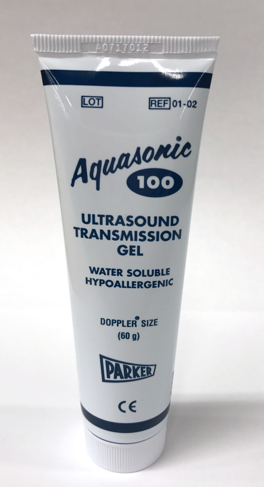 Aquasonic 100 Gel, 01-02, Sterile, 60g (12 per box)