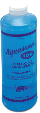 Aquasonic 100 Gel, 01-34, 1L (6 per Box)