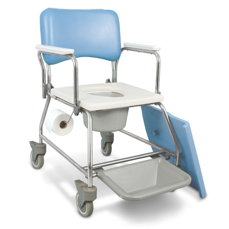 Aquacare Commode, Bedpan compatible