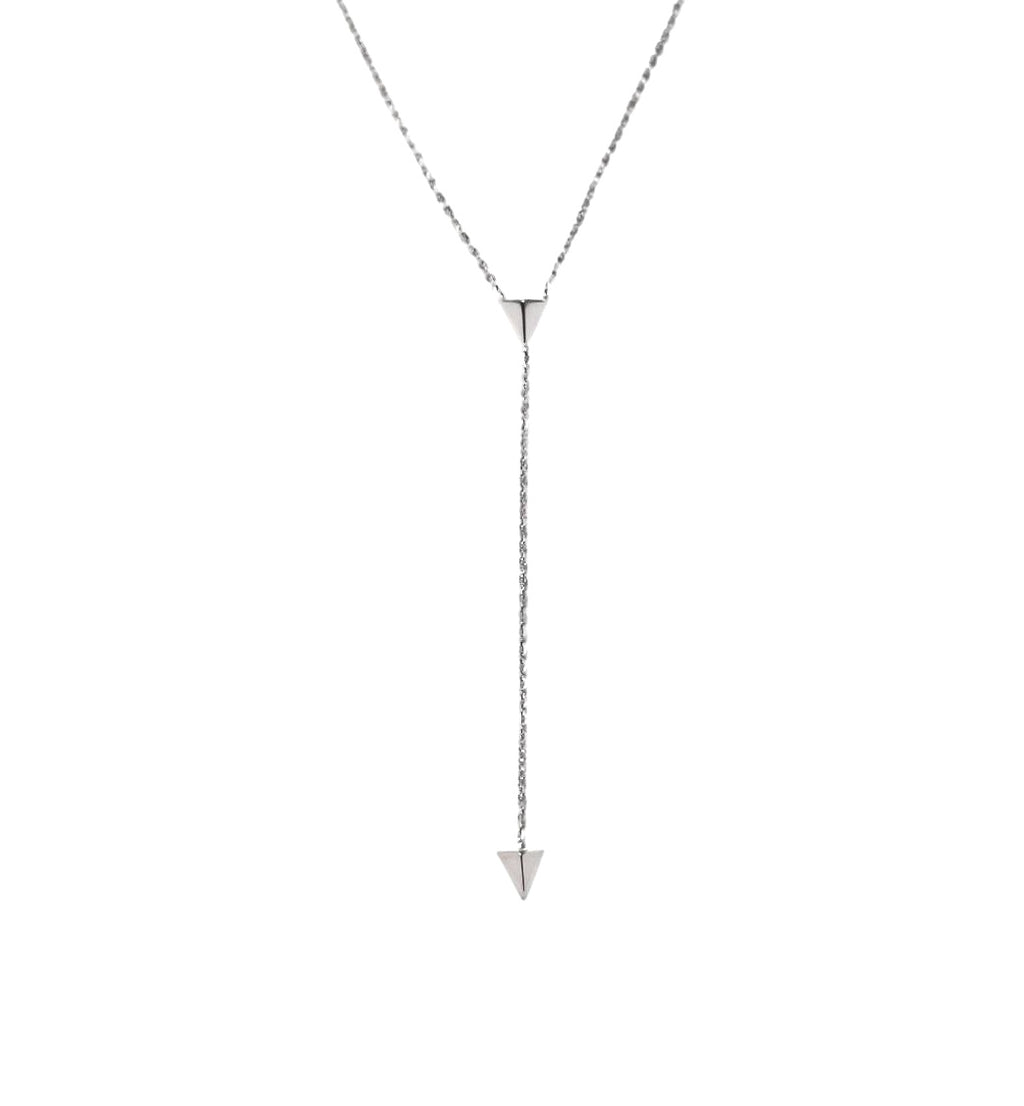 PEYTON Necklace, Silver - Shop Allie Marie