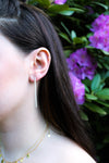 ALLISON Earrings, Silver - Shop Allie Marie