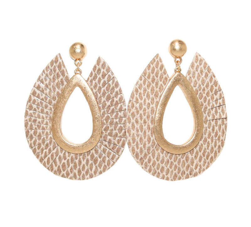 ROXY Earrings, Snake - Shop Allie Marie