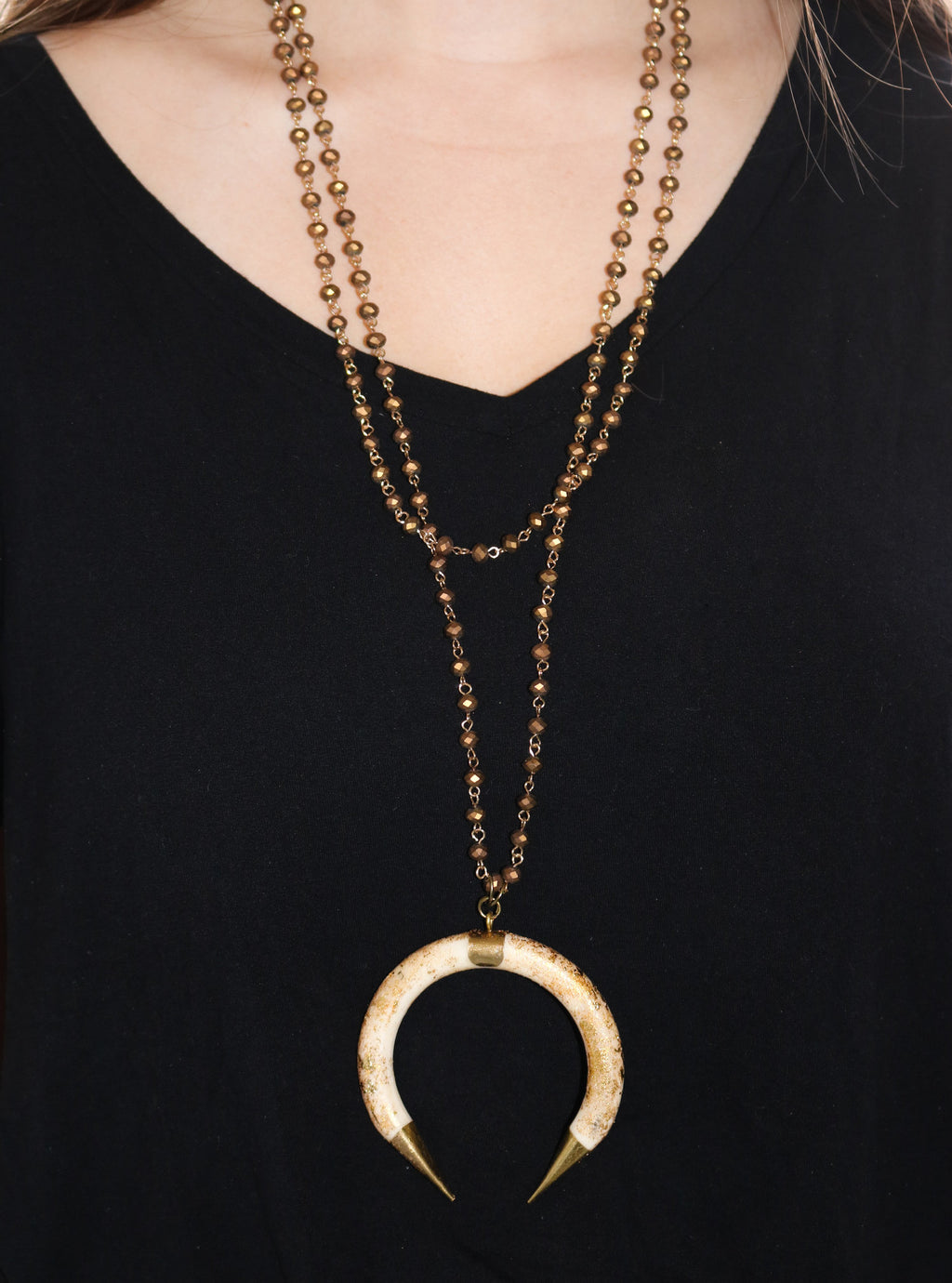EMILIE Necklace, Frost - Shop Allie Marie