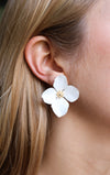 GLORY Earrings, White - Shop Allie Marie