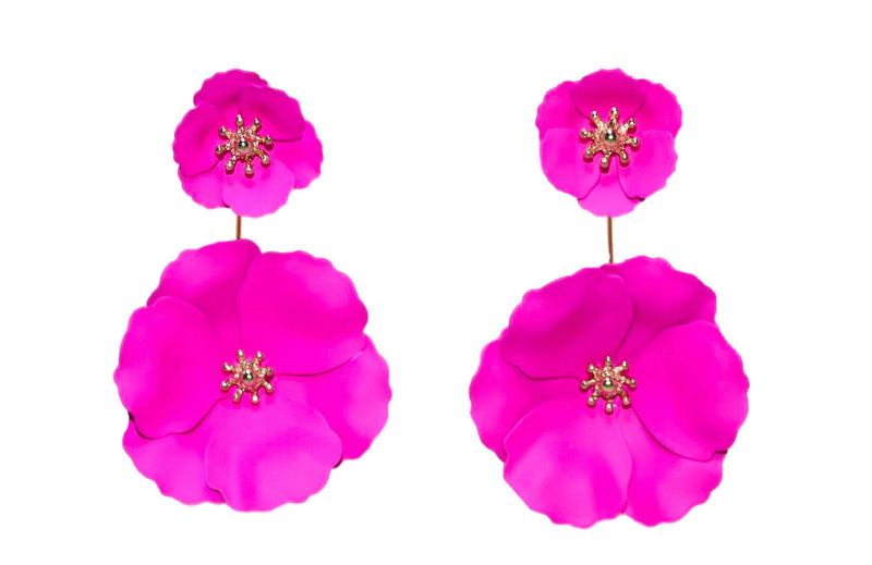 FRANCES Earrings, Pink - Shop Allie Marie