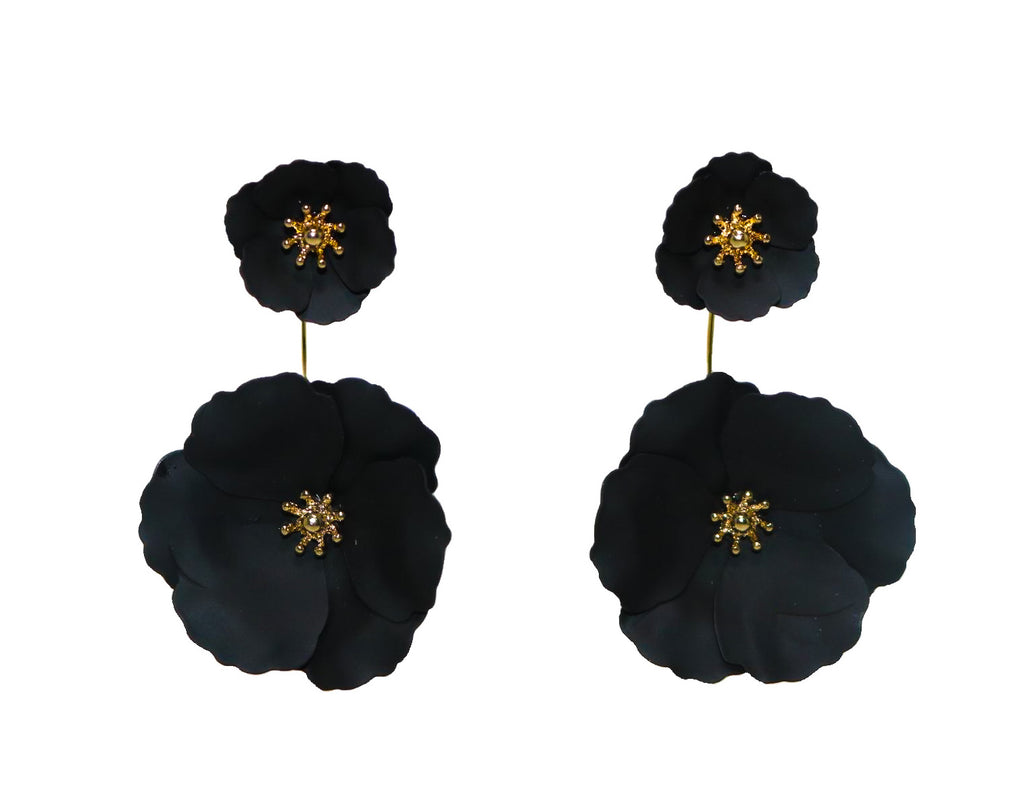 FRANCES Earrings, Black - Shop Allie Marie