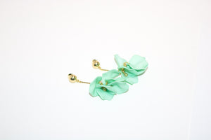 PETAL Earrings, Mint - Shop Allie Marie