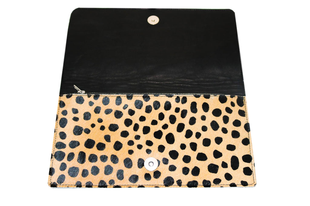 CAROLINE Leopard Clutch - Shop Allie Marie