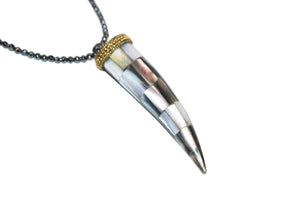 ASPEN Horn Necklace - Shop Allie Marie