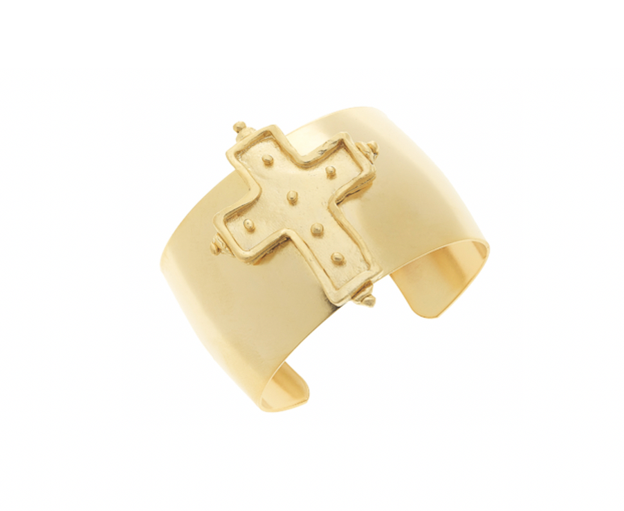 FAITH Cross Cuff - Shop Allie Marie
