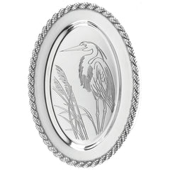 Latitudes Oval Heron Tray - Medium & Large