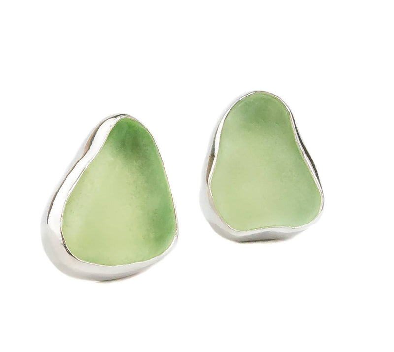 Sea Glass Post Earrings