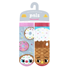 Donut & Ice Cream | Kids & Adult Socks | Mismatched Fun Socks