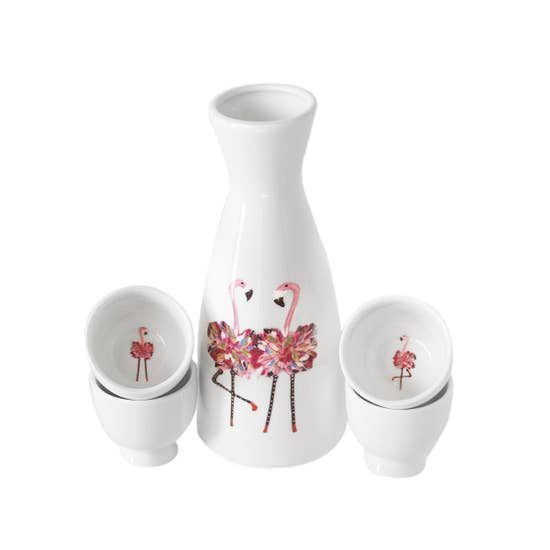 Flamingo Twins Dinnerware