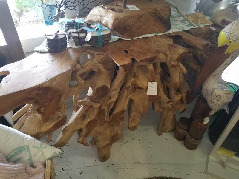 *Reserved* Teak Root Console
