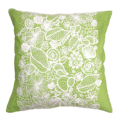 Shell Embroidery Pillow