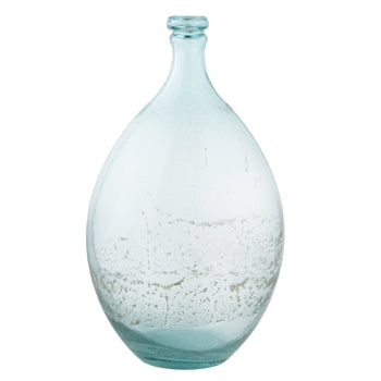 Teal & Spot Vases - Small & Large