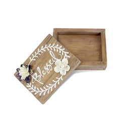Blessed Shell Prayer Box