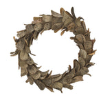 Natural Birch Wood Wreath 14""