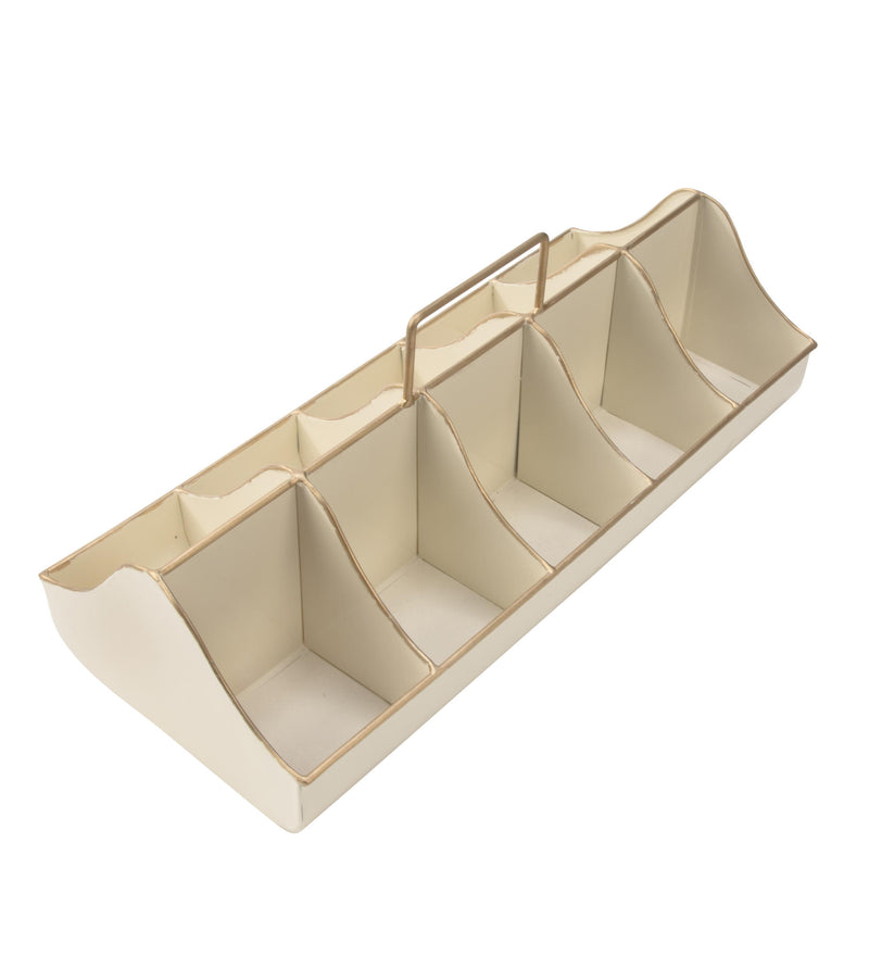Cream Organizer Carrier Crate