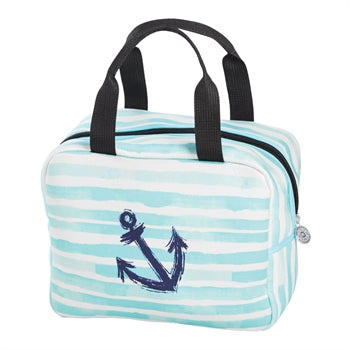 Anchor Stripe Lunch Cooler