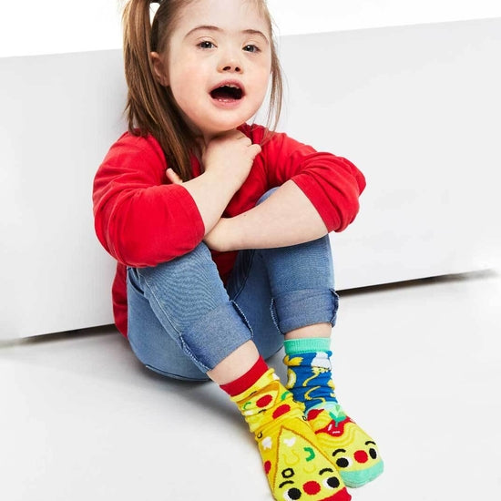 Pizza & Pasta | Kids & Adult Socks | Mismatched Fun Socks