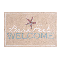 Bare Feet Welcome Rug
