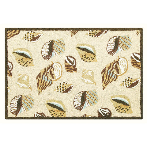 Gold Coast Shells Rug