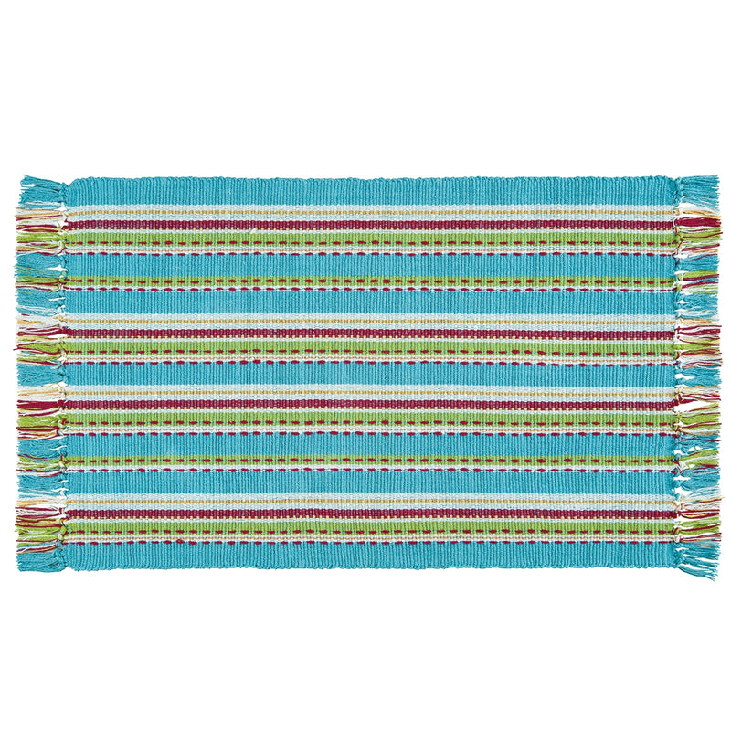 Tropical Stripe Rug